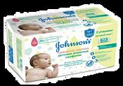 Johnson's Baby Нежность хлопка 112 шт