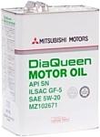 Mitsubishi DiaQueen SN 5W-20 (MZ102671) 4л