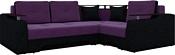 Mebelico Комфорт (черный/фиолетовый) (A-57408)