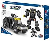 Chaobao SWAT Team Action 7002-2 Робот и бронемашина