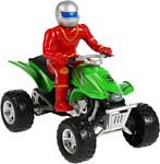 Технопарк Квадроцикл с Фигуркой FY886-F
