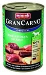 Animonda (0.4 кг) GranCarno Original Adult для собак с говядиной, олениной и яблоком