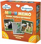 Нескучные игры Ми-Ми-Мемо Экзотические животные 8064