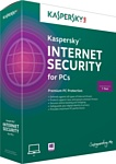 Kaspersky Internet Security 2015 (2 ПК, 1 год, базовый)