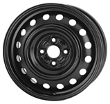 Magnetto Wheels R1-1607 5.5x15/4x100 D54 ET45 Black