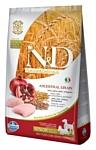 Farmina (12 кг) N&D Low-Grain Canine Chicken & Pomegranate Senior Mini & Medium