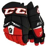 CCM Tacks 6052 SR (черный/красный/белый, 15 размер)