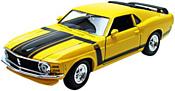 Maisto Форд Мустанг 31943 (желтый)