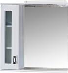 Onika Шкаф с зеркалом Кристалл 67.02 левый (белый) (206705)