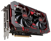 PowerColor Radeon RX 580 1425Mhz PCI-E 3.0 8192Mb 8000Mhz 256 bit DVI HDMI HDCP Red Devil Golden Sample