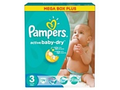 Pampers Active Baby-Dry 3 Midi (174 шт.)