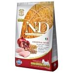 Farmina (7 кг) N&D Low-Grain Canine Chicken & Pomegranate Adult Mini