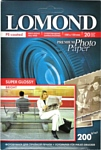 Lomond Суперглянцевая ярко-белая A6 200 г/м2 20л (1101113)