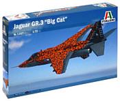 Italeri 1357 Истребитель-бомбардировщик JAGUAR Gr.3 BIG CAT Sp. Colors