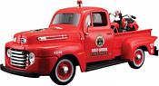 Maisto Форд F-150 Пожарная с мотоциклом 32191 (красный)