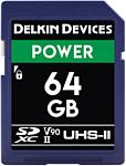 Delkin SDXC Power UHS-II 64GB