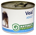 Nature's Protection Консервы Dog Adult Veal (0.2 кг) 1 шт.