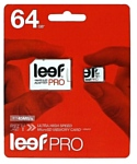 Leef PRO microSDXC Class 10 UHS-I U1 64GB + SD adapter