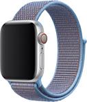 Apple из плетеного нейлона 40 мм (небесная лазурь) MV6F2