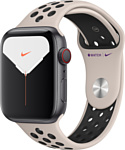 Apple Watch Series 5 44mm GPS + Cellular Aluminum Case with Nike Sport Band
