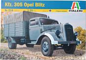 Italeri 0216 Грузовой автомобиль Opel Blitz