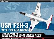 Academy Cамолет USN F2H-3 VF-41 Black Aces 1/72 12548