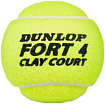 Dunlop Fort Clay Court (4 шт)