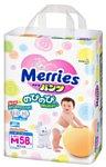 Merries M (6-10кг) 58шт