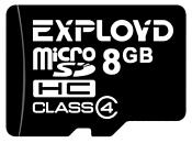 EXPLOYD microSDHC Class 4 8GB