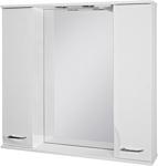 Ювента Франческа ФШН33-87 шкаф с зеркалом белый