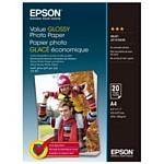Epson Value Glossy Photo Paper A4 183 г/м2 20 листов (C13S400035)