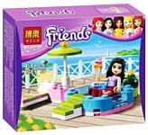 BELA Friends 10124 Веселый бассейн Эммы