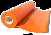 Poli-Tape Poli-Flock 515 (оранжевый) 500 мм x 1 м