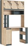 МСТ. Мебель Кембридж 2 (дуб сонома светлый/графит)