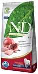 Farmina (12 кг) N&D Grain-Free Canine Chicken & Pomegranate Adult Maxi