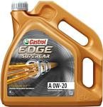 Castrol Edge Supercar A 0W-20 4л