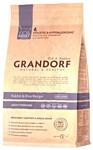 Grandorf (0.4 кг) Кролик с рисом STERILIZED