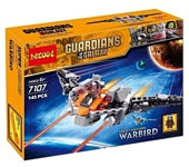 Jisi bricks (Decool) Guardians of The Galaxy 7107 Реактивный Енот