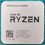AMD Ryzen 5 1600X Summit Ridge (AM4, L3 16384Kb)