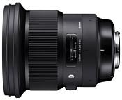 Sigma 105mm f/1.4 DG HSM Art Nikon F