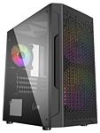 PowerCase Mistral Micro Z3B Mesh LED Black