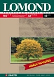 Lomond Глянцевая A4 160 г/кв.м. 50 листов (0102055)