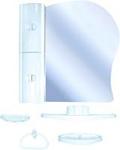 Белпласт Набор мебели для ванной голубой левый (с341-2830)