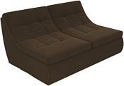 Лига диванов Холидей 101876 (коричневый)