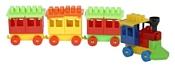 Poltoys Паровоз 3 вагона PL4185