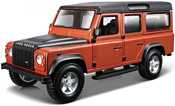 Bburago Land Rover Defender 110 1:32 18-45127 (коричневый/черный)