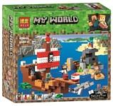 BELA My World 11170 Приключения на пиратском корабле