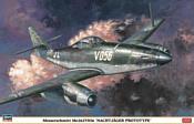 "Hasegawa Истребитель Messerschmitt Me.262 V056 ""Nachtjager Prototype"