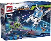 Enlighten Brick Space Adventure 1616 Космический корабль