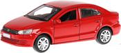Технопарк Volkswagen Polo (красный)